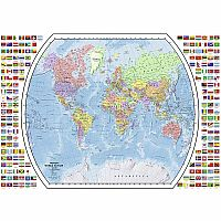 1000 pc Political World Map Puzzle