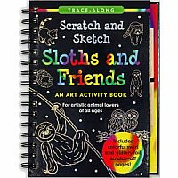 Scratch & Sketch Sloths and Friends