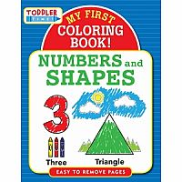 My First Coloring Book - Numbers and Shapes