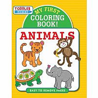 My First Coloring Book - Animals