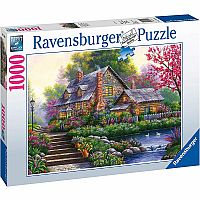 1000 pc Romantic Cottage Puzzle