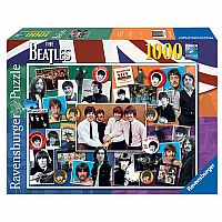 1000 pc Beatles Anthology Anniversary Puzzle