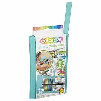 Art Colorave On-The-Go Coloring Journal