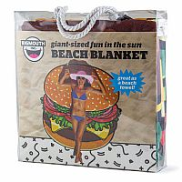 Cheeseburger Beach Blanket