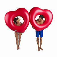 Giant Two of Hearts Float