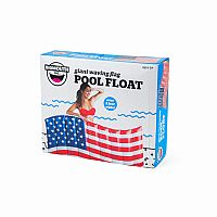 Giant Waving American Flag Pool Float