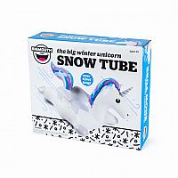 Winter Unicorn Snow Tube