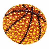 Basketball Stickerbeans