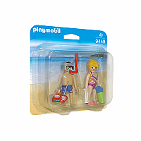 Figures 2 pack: Beachgoers