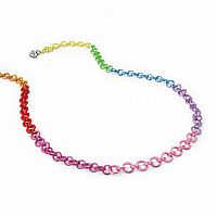 Chain Necklace- Rainbow