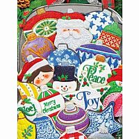 Christmas Ornaments - 500 Pc. Puzzle