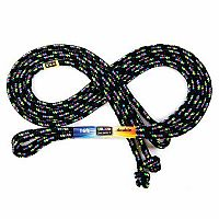 Black Confetti 16 Foot Jump Rope
