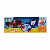 Build-A-Road Light-Up Cars