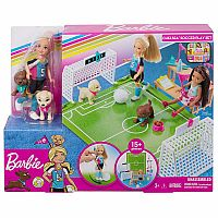 Chelsea™ Doll with Soccer Playset