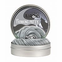 "Howl Glow-in-the-Dark 4"" Tin Thinking Putty"