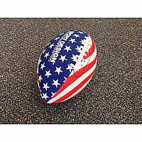 "10.5"" Football Stars Stripes"