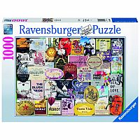 1000 pc Wine Labels Puzzle