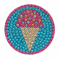 Ice Cream Cone Stickerbeans
