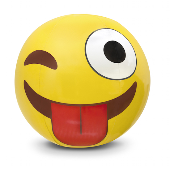 Crazy Emoji Beach Ball Fun Stuff Toys