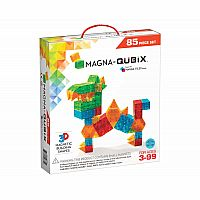 85-Piece Qubix Magna-Tiles™ Set