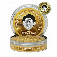 "Brilliant Gold Thinking Putty 2"" Tin"