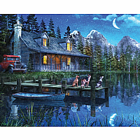 1000 pc Moonlit Night Puzzle