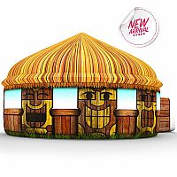 Tiki Hut Air Fort