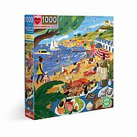 1000 pc Beach Umbrellas Puzzle
