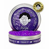 "Purple Thinking Putty 2"" Tin"