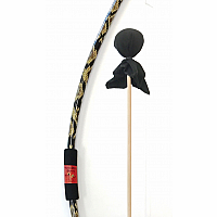 Python Bow with Black Arrow