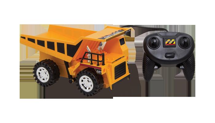 R C Large Dump Truck Fun Stuff Toys