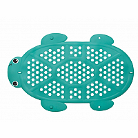 2 in 1 Bath Mat & Storage Basket Turtle