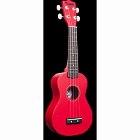 Dark Red Penguin Ukulele