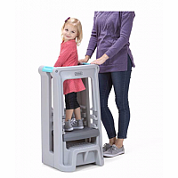 Toddler Tower Adjustable Stool