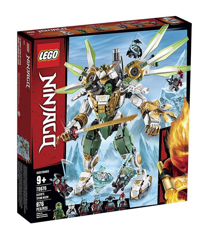 LEGO® NINJAGO® - Lloyd's Titan Mech - Fun Stuff Toys