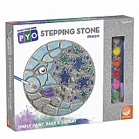 Paint Your Own Stepping Stone: Moon and Stars