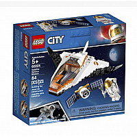 LEGO® City Space Satellite Service Mission