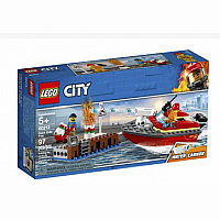 LEGO® City Fire Dock Side Fire