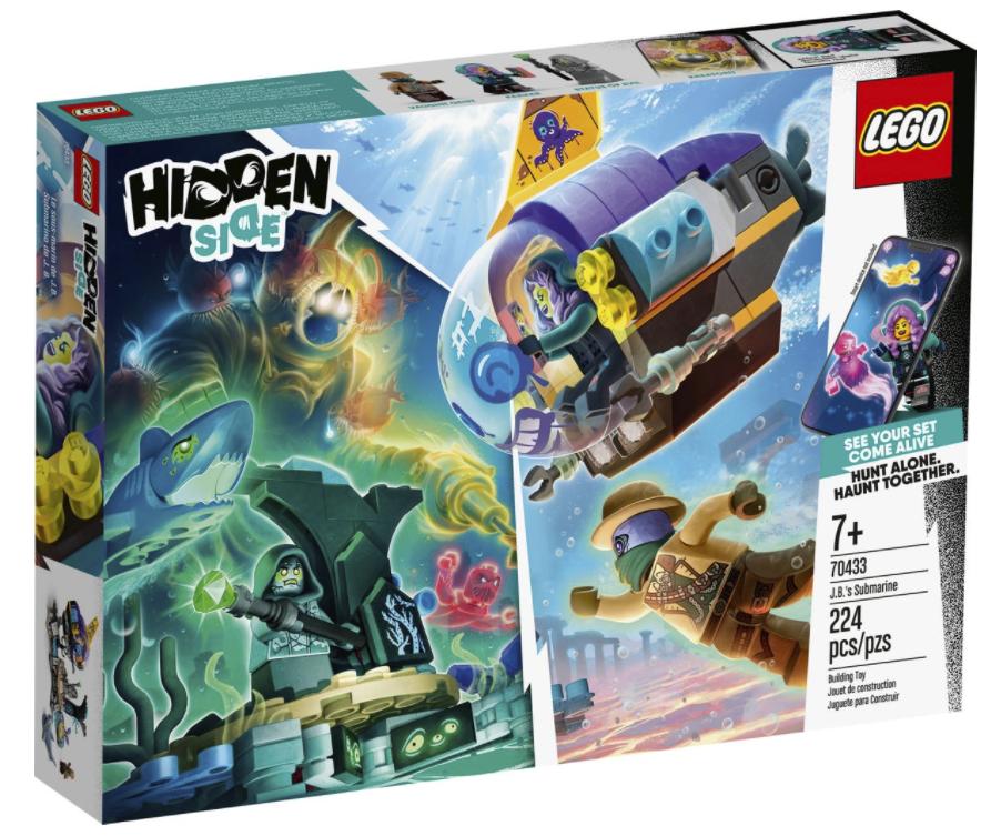 lego® hidden side jb's submarine  fun stuff toys