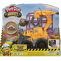 Wheels Front Loader Play Doh
