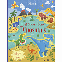 Dinosaurs First Sticker Book Revised
