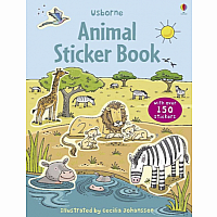 Animals First Sticker Book
