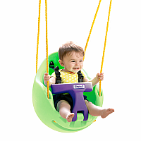 Green Snuggle Swing