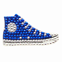 Blue Sneaker Stickerbeans
