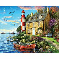1000 pc Cottage Lighthouse Puzzle