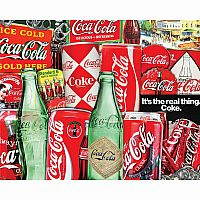 1000 pc Vintage Soda Cans Puzzle