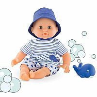 Bébé Bath Boy Baby Doll