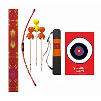 Orange Tie-Dye Archery Combo Set
