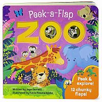 Zoo Peek A Flap Book