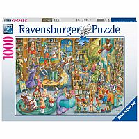 1000 pc Midnight at the Library Puzzle